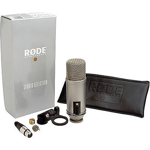 Rode Broadcaster Large-Diaphragm Condenser Microphone - Red One Music