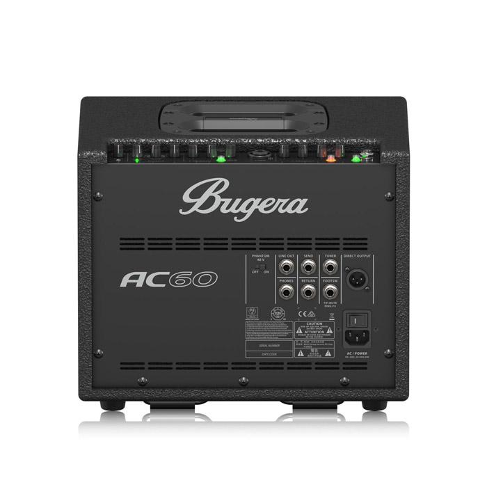 Bugera Ac60 60W Amplifier Specifically Designed For Acoustic Instruments And Vocals