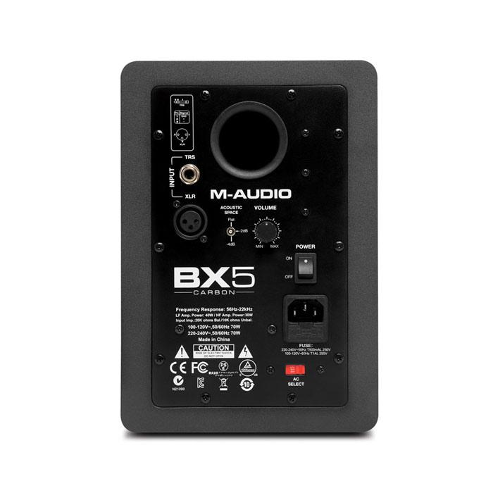 M-Audio Bx5 Carbon Each 5-Inch Studio Monitor