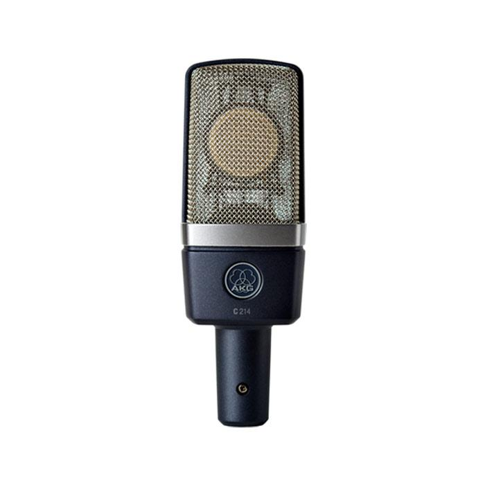 AKG C214 Professional Large-Diaphragm Condenser Microphone - Red One Music