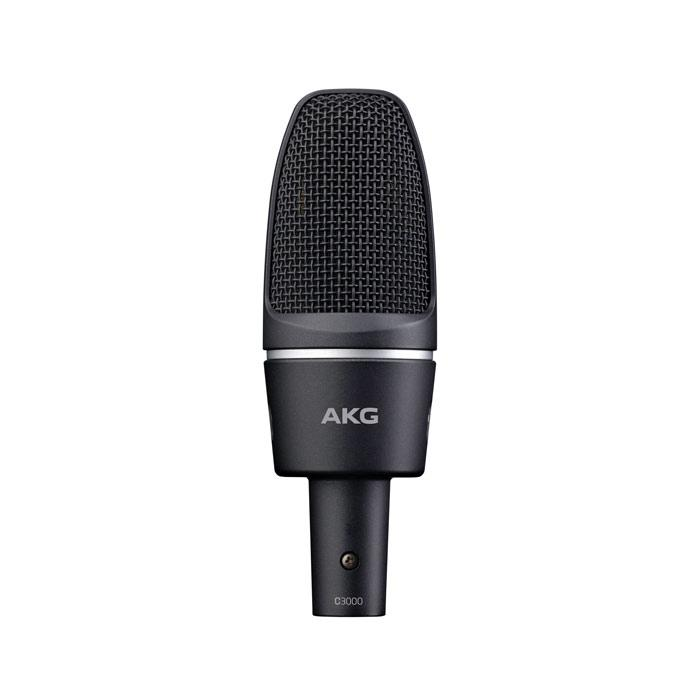 AKG C3000 High-Performance Large Diaphragm Condenser Microphone - Red One Music