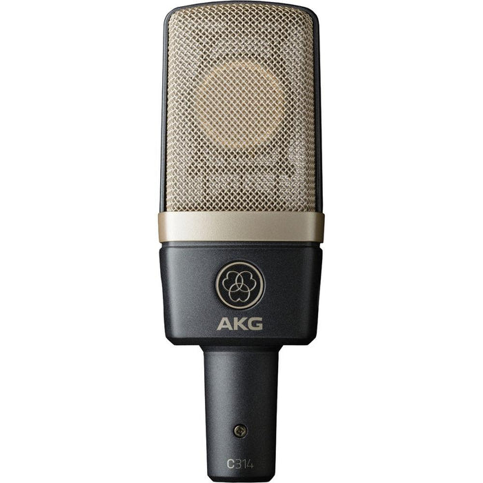 Microphone à condensateur multi-motifs AKG C314 - Red One Music