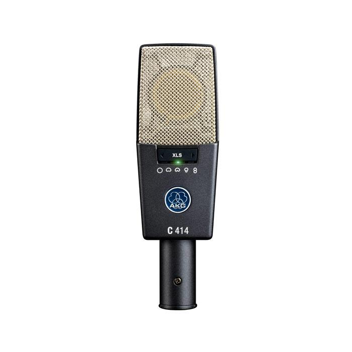 AKG C414 XLS Reference Microphone à condensateur multipattern - Red One Music