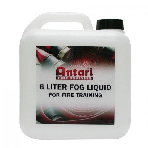 Antari FLP-6 Fire Training Fog Fluid - Red One Music