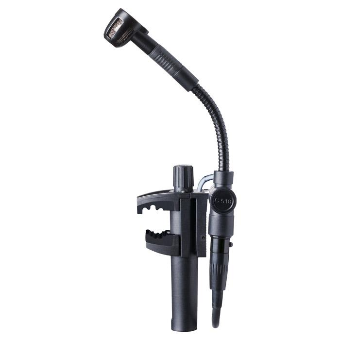 AKG C518M MINIATURE CLAMP-ON CARDIOID CONDENSER MICROPHONE
