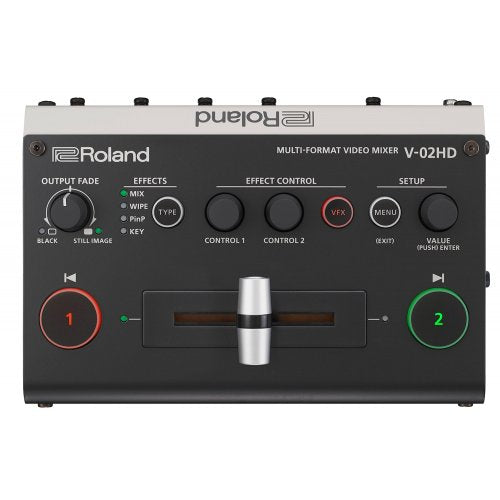 Roland V-02HD Multi-format Video Mixer - Red One Music