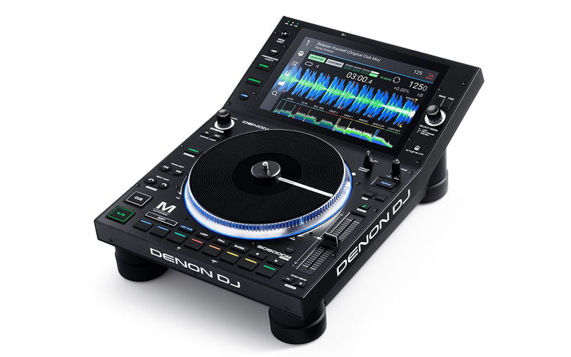 "Denon DJ SC6000M Professional DJ Media Player with 8.5"" Motorized Platter and 10.1"" Touchscreen - Red One Music"