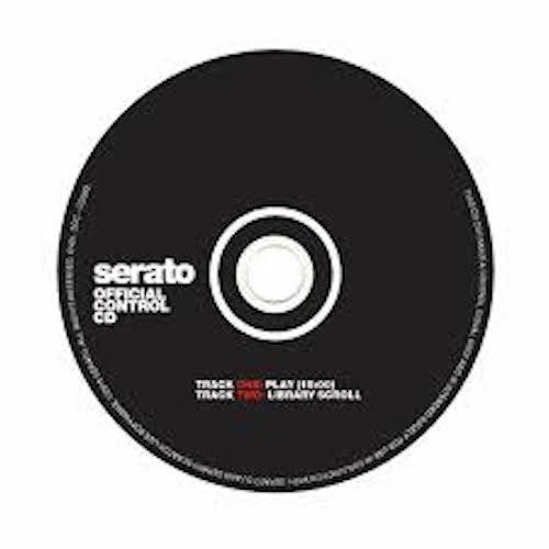 Serato Official Control CD - 1 Pair - Red One Music