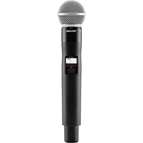 Shure Qlxd2/Sm58 Handheld Wireless Transmitter Frequency G50