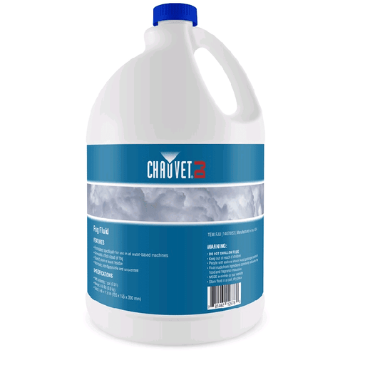 CHAUVET FJU FOG LIQUID FOG JUICE GALLON