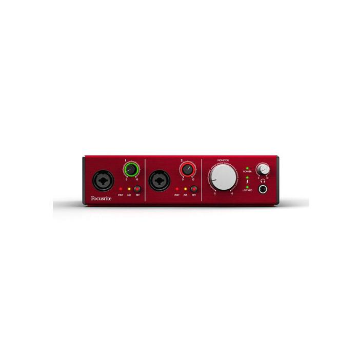 FOCUSRITE CLARETT 2PRE THUNDERBOLT 10-IN  4-OUT THUNDERBOLT INTERFACE
