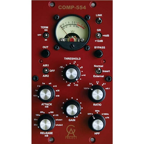 Golden Age Project COMP-554 500 Series Vintage Style Compressor - Red One Music