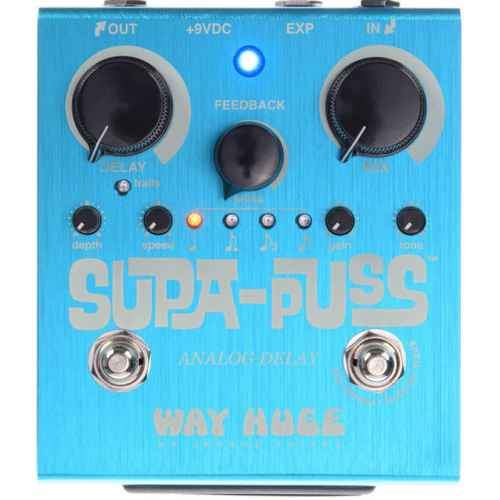 Way Huge Whe707 Supa-Puss Analog Delay - Red One Music
