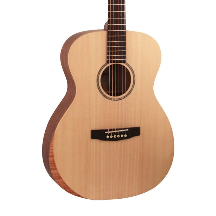 Cort LUCE-BEVELCUT-OP Luce Series - OM Body Acoustic Guitar with Bevel Cut - Open Pore