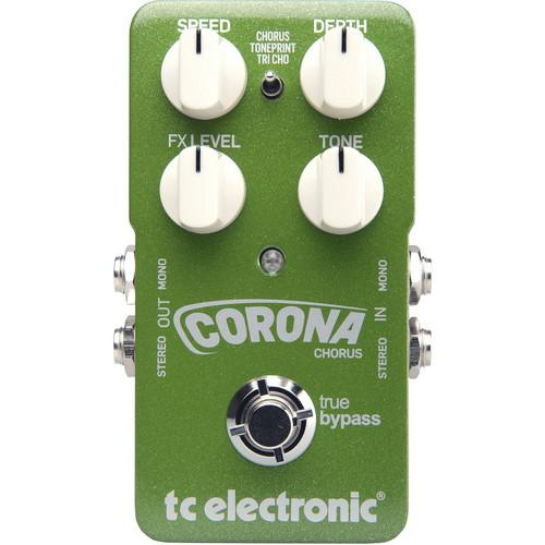 Tc Electronic Corona Chorus Stompbox Style Chorus Pedal - Red One Music