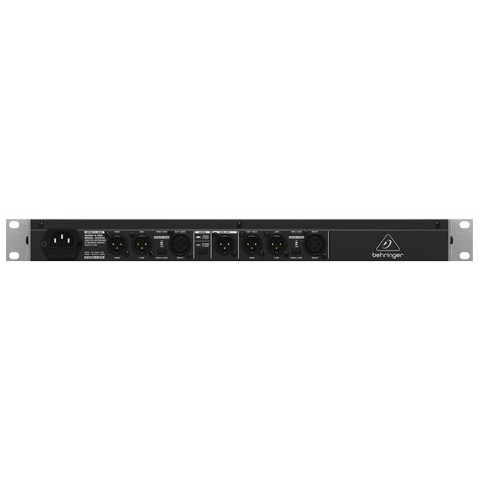 BEHRINGER  CX2310 HIGH-PRECISION STEREO 2-WAYMONO 3-WAY CROSSOVER WITH SUBWOOFER OUTPUT
