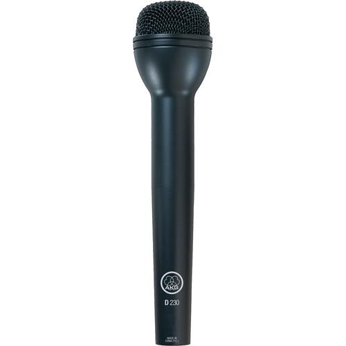 AKG D230 Omnidirectional Handheld Dynamic Microphone