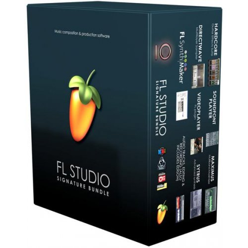 Image Line FL Studio 20 - Signature Bundle (Download) - Red One Music