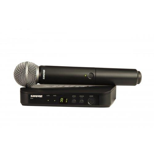 Shure Blx24/Sm58 Wireless Handheld Mic System Frequency H10