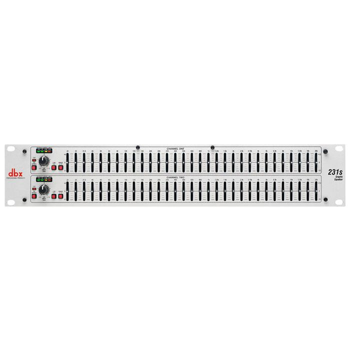 Dbx 231Sv Dual Channel 31-Band Equalizer