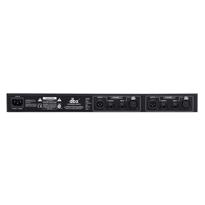 Dbx 215Sv Dual Channel 15-Band Equalizer - Red One Music