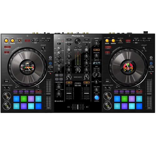 Pioneer DJ DDJ-800 DEMO 2-Channel Rekordbox DJ Controller With Integrated Mixer - Red One Music