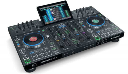 "Denon Dj Prime 4 Standalone 4-Deck Dj System 10"" Hd Multitouch Display"
