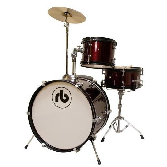 Rb Drums Rb-Jr3-Mwr 3 Piece - Red Wine - Red One Music