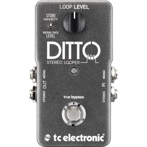 Pédale Looper Looper Tc Electronic Ditto Stereo - Red One Music