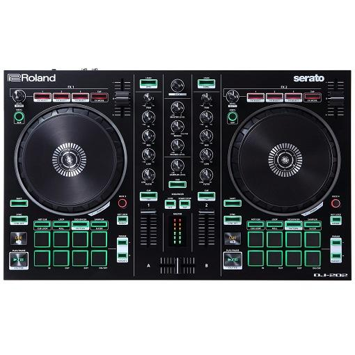 Roland DJ-202 2-Channel Serato Intro Dj Controller - Red One Music