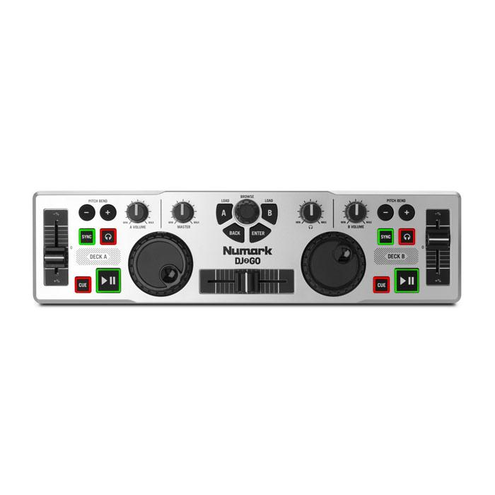 Numark Dj2Go Portable Dj Controller - Red One Music
