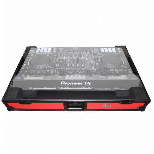Prox Xs-Ddjrzxwrb Controller Flight Case With Wheels - Red One Music