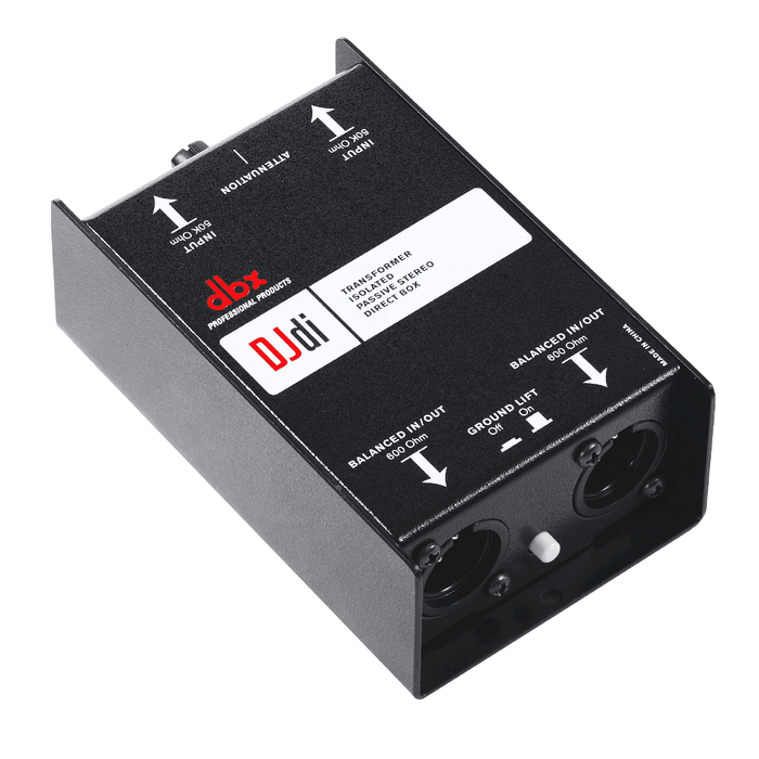 Dbx Djdi 2 Direct Channel Passive Box - Red One Music