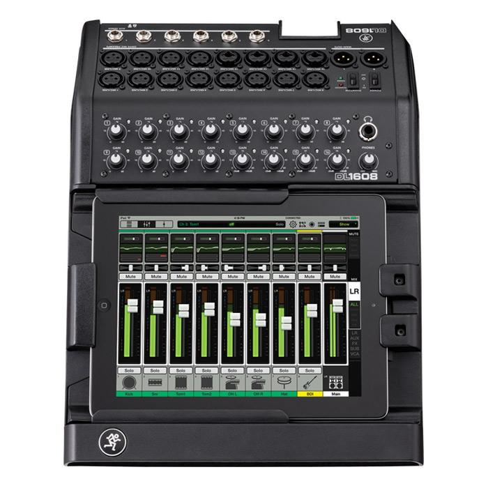 Mackie DL1608 16-Channel Digital Live Sound Mixer with iPad Control Lightning - Red One Music