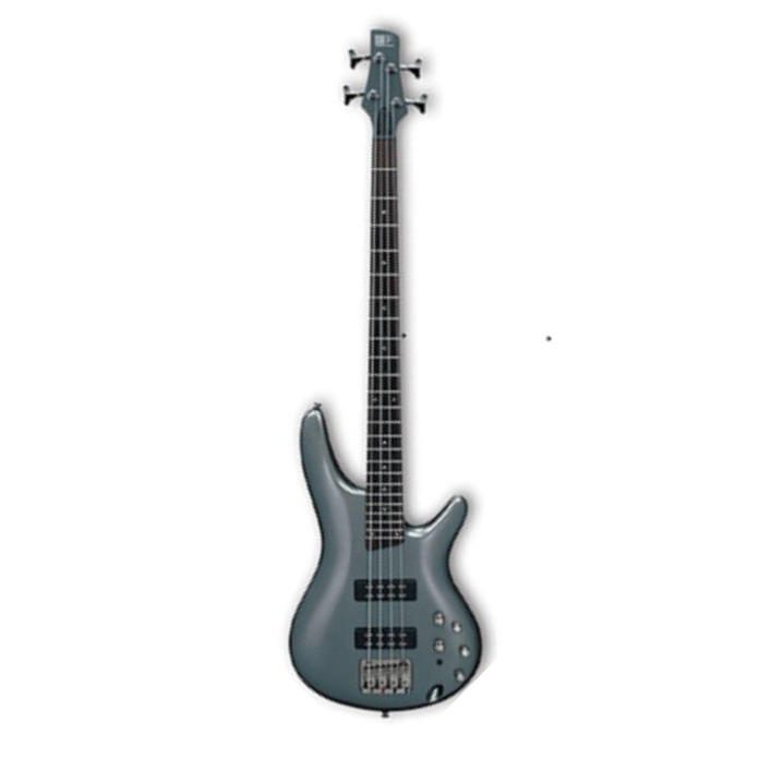 Ibanez SR300E-MG SR Series 4 String Bass Guitar In Metallic Gray Finish