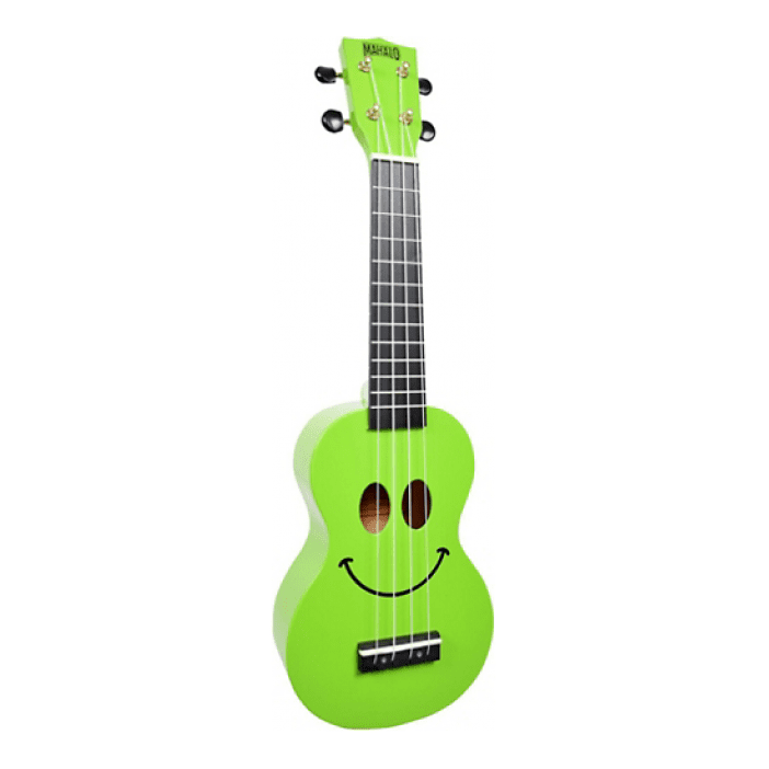 Mahalo U-Smile Green A Colorful Ukulele Thats Guaranteed To Raise A Smile - Red One Music
