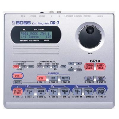 Boss Dr Rhythm Dr-3 Drum Machine - Red One Music