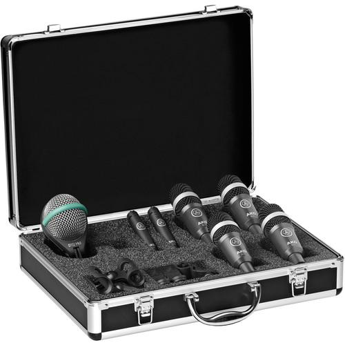 AKG Drum Set Concert 1 Drum Mic Set - Red One Music