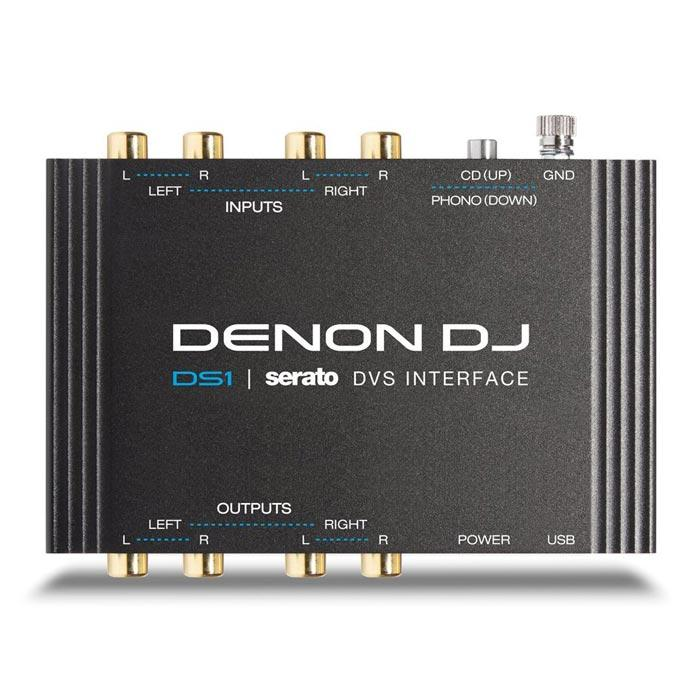 Denon Ds1 Serato Dvs And Audio Interface - Red One Music