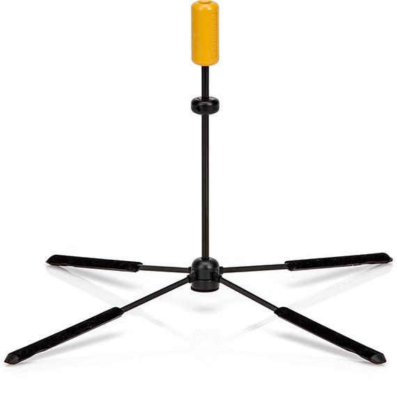 Hercules Ds461B Travlite Low-B Flute Stand - Red One Music