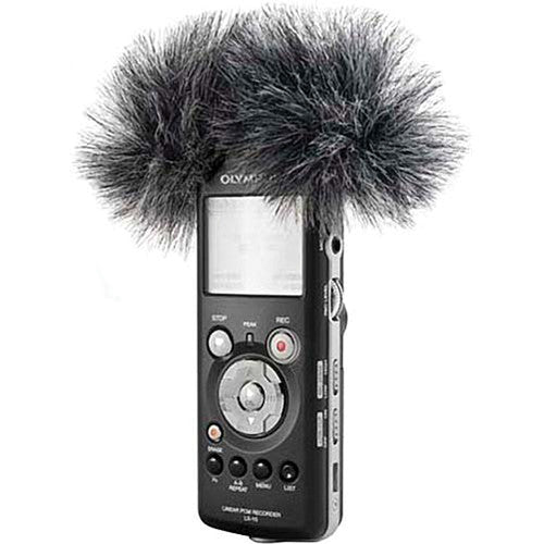 Rycote 055366 Mini Windjammer For Olympus Ds 30 - Red One Music