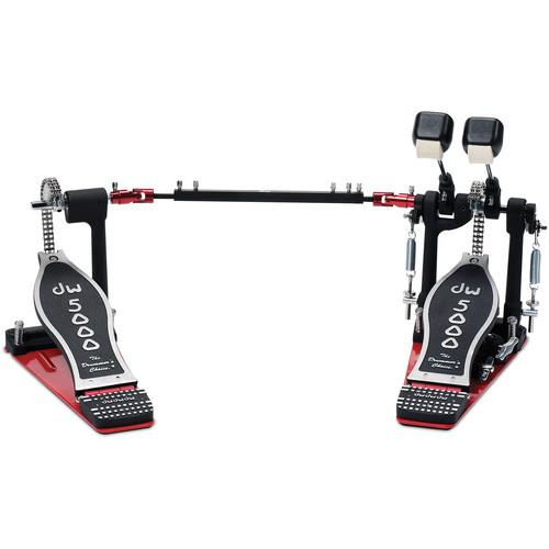 Dw Drum Workshop DWCP5002TD4 Double Bass-Drum Pedal - Red One Music