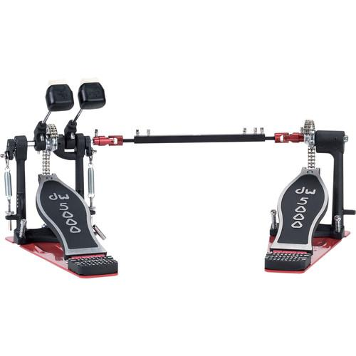 Dw Drum Workshop DWCP5002TDL3 Left Handed Double Bass-Drum Pedal - Red One Music