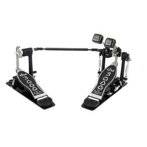 Dw Drum Workshop DWCP3002 Double Kick Drum Pedal - Red One Music