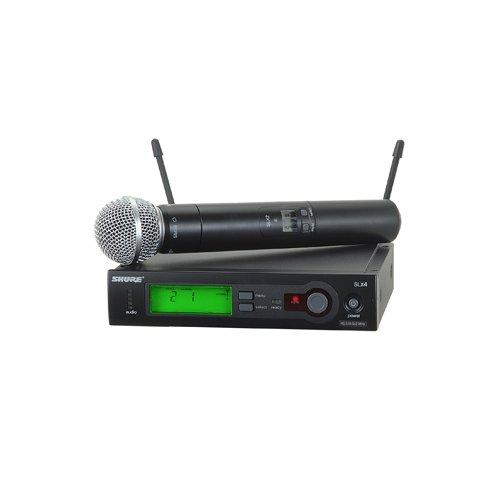 Shure Slx24/Sm58 Handheld Wireless System Frequency H5 - Red One Music