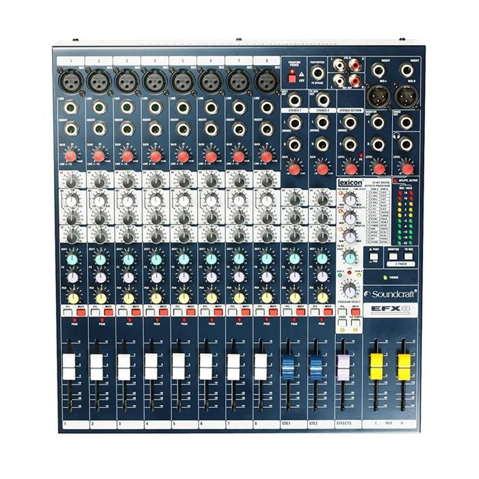 Soundcraft EFX8 Mixer With Effects