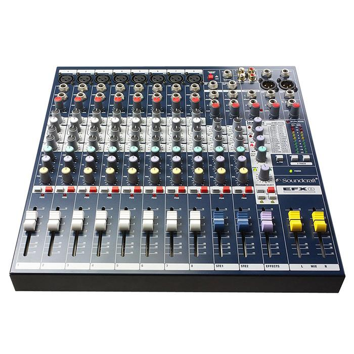 Soundcraft EFX8 Mixer With Effects - Red One Music