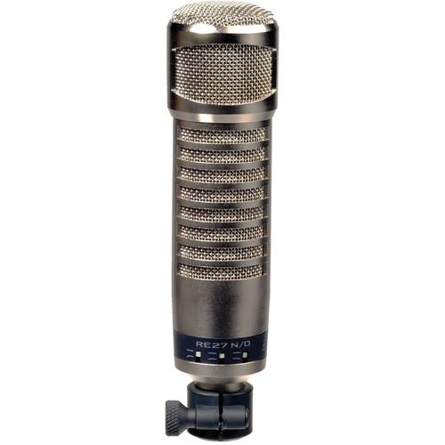 Electro-Voice RE27N/D Broadcast Announcer Microphone With Variable-D And Ndym Cap - Red One Music