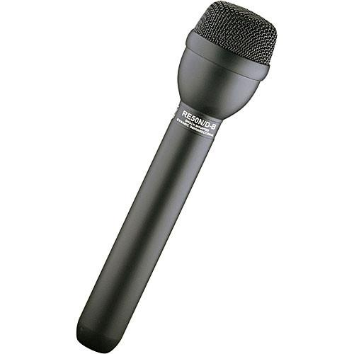 Electro-Voice RE50N/D-B Omnidirectional Dynamic Shockmounted Eng Microphone With Neodymium Capsule Black - Red One Music