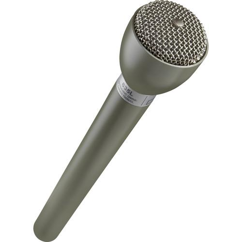 Electro-Voice 635L Omnidirectional Handheld Dynamic Eng Microphone With Long Handle Beige - Red One Music